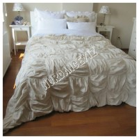 ruched bedding - 28 images - chezmoi collection chic ...