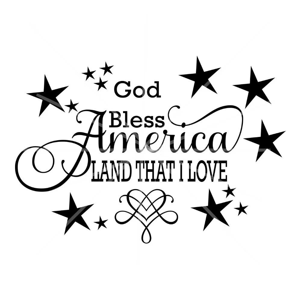 Download SVG - God Bless America Land That I Love - God Bless ...