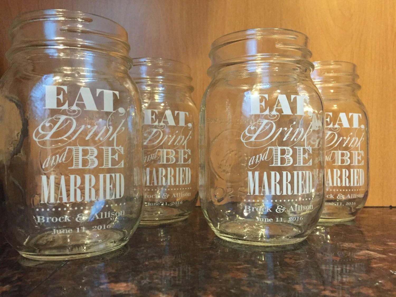 Custom Clear Wedding Labels Mason Jar Labels String Light