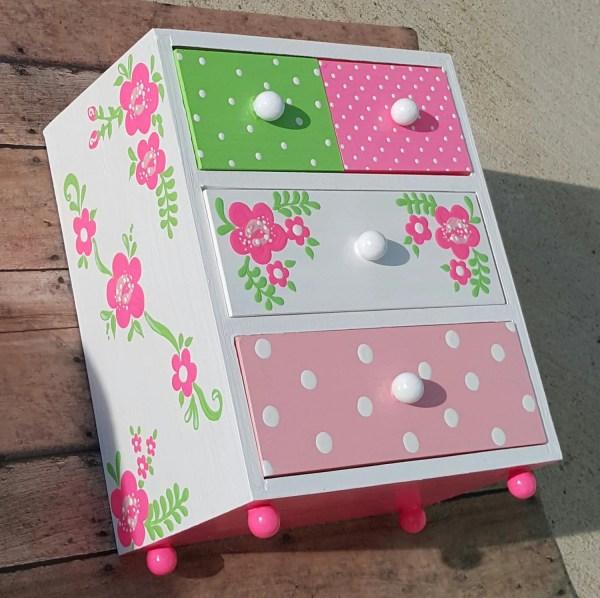 Personalized Girls Jewelry Box