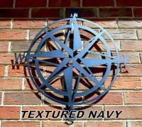Nautical Compass Nautical Wall Art Metal Wall Art