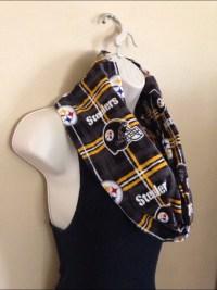 Steelers scarf | Etsy
