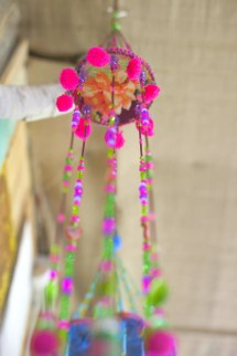Beaded Wind Chime Bells