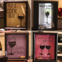 Wine Cork Holder. Gift for Wine Lover. Wine Cork Shadow Box.