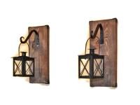 Lantern Sconce Hanging Candle Lantern Pair by ...