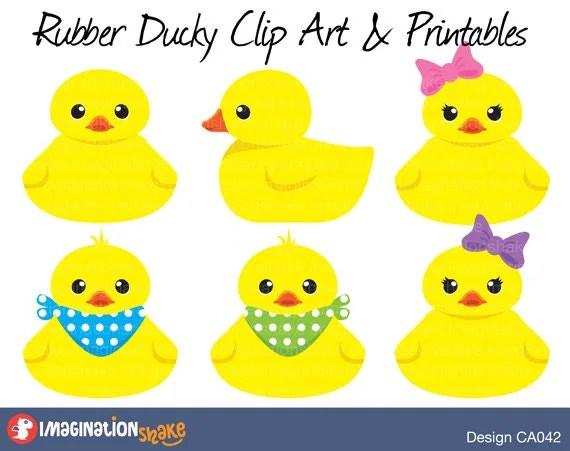 rubber duckies baby clip art &