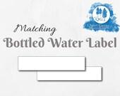 Matching BOTTLED WATER LA...