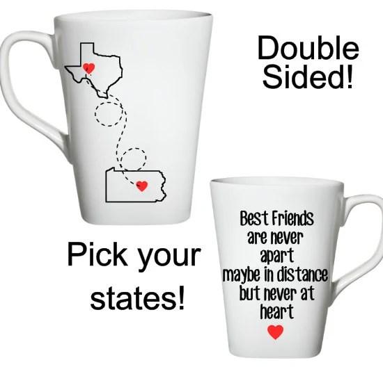 Long Distance Friends Coffee Mug