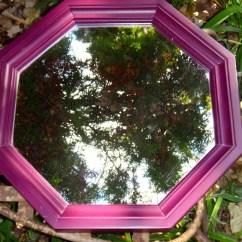 Tell City Chairs Pattern 4222 Core Ball Chair Octagon Mirror 1970s Purple Eggplant Aubergine