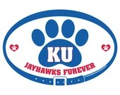 DECAL - KU Jayhawks Furev...