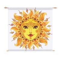 Boho Sun Tapestry Wall Hanging Art Gypsy Sun Spiritual Sun