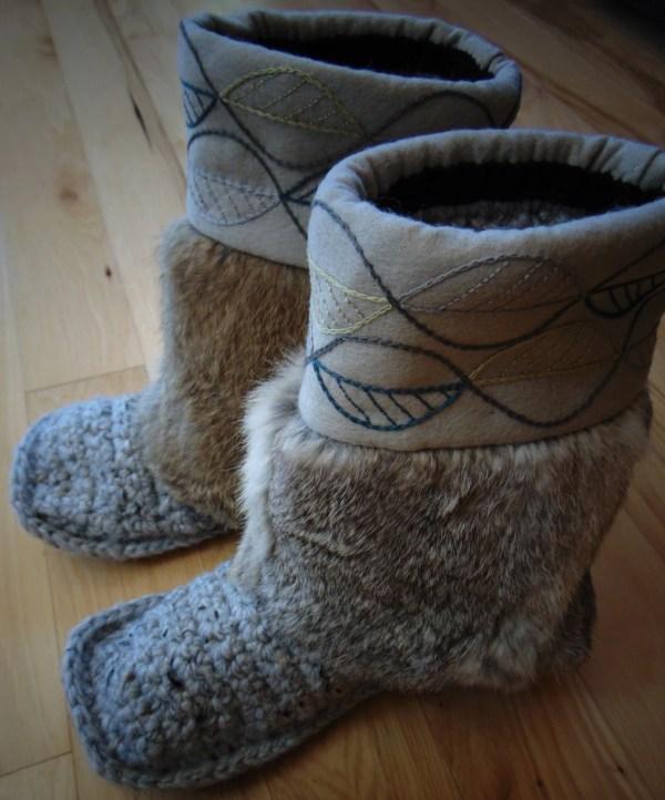 Mukluk Slippers Leaves Size 9