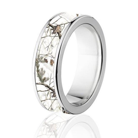 Camo Wedding Band For Him