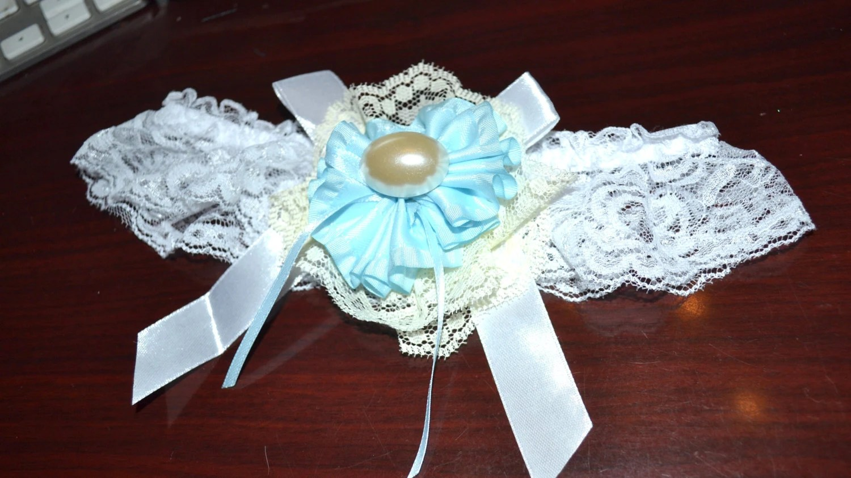 Garter Wedding Garter White Lace Garter Leg Garter Bridal
