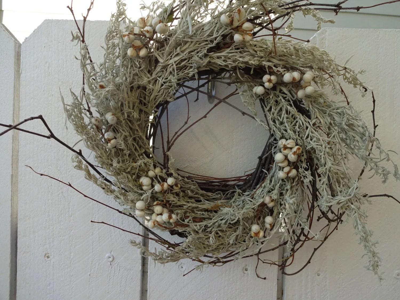 Birch Twig Wreath Rustic Wreath Natural Wreath