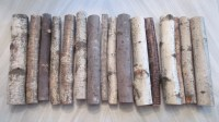 Decorative fireplace logs Mixed species including Birch maple