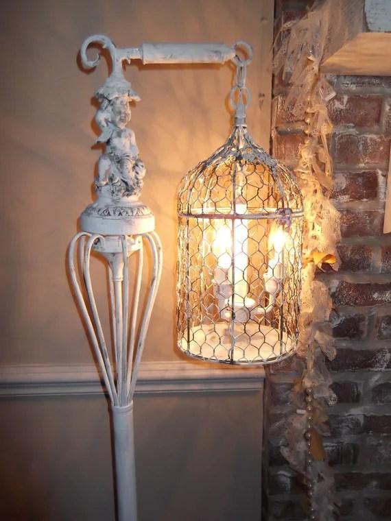 bird cage Chandelier floor Lamp vintage chandelier bird cage