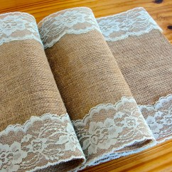 Burlap Chair Sashes Wheelchair Bound Natural And Lace Sash Wedding Decor