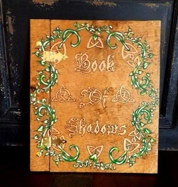 DIY Book Of Shadows Grimoire BOS Spell Book by