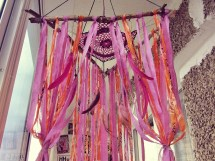 Hippie Patio Tent Canopy Boho Outdoor Wind Chime