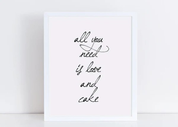 Image result for quote on wedding cake