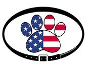 DECAL - American Paw Prin...