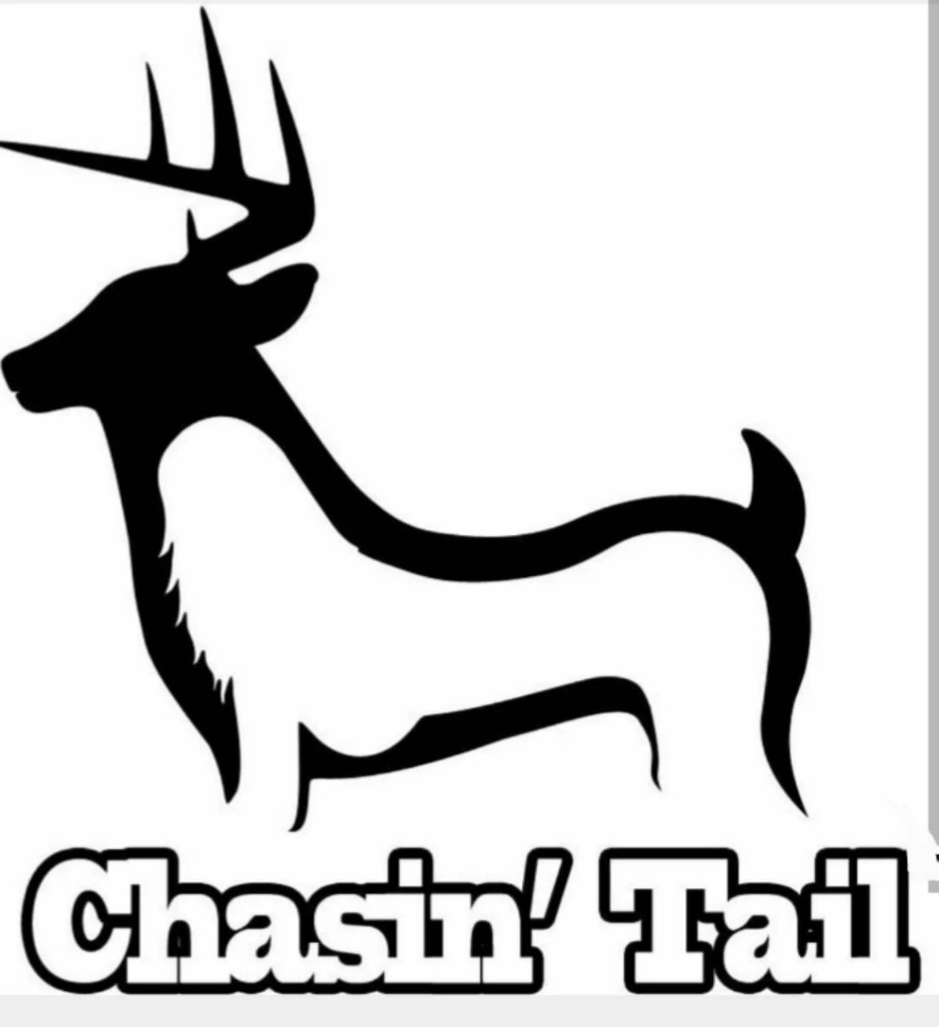 Hunting And Fishing Chasin Tail Decal 6x6 By Hannahsvinyl