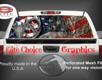 American flag vans
