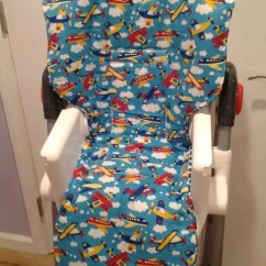 Graco High Chair Seat Cover Wedding Covers Nz Replacement Padded Universal Standard Size