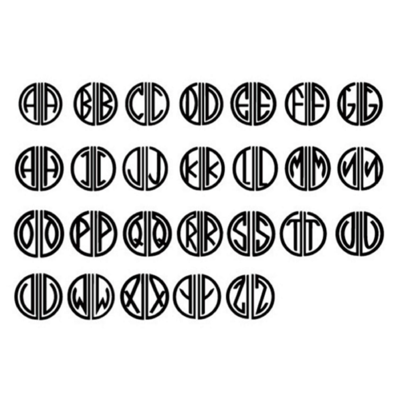 Great Gatsby Monogram Initial Wax Seal by Bielyse on Etsy