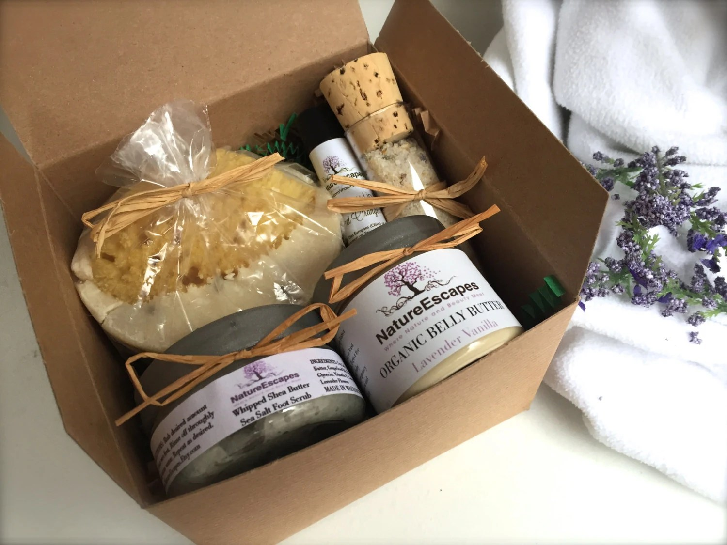 Pregnancy Gift Set Mom To Be Mother's Day Spa Gift Bath