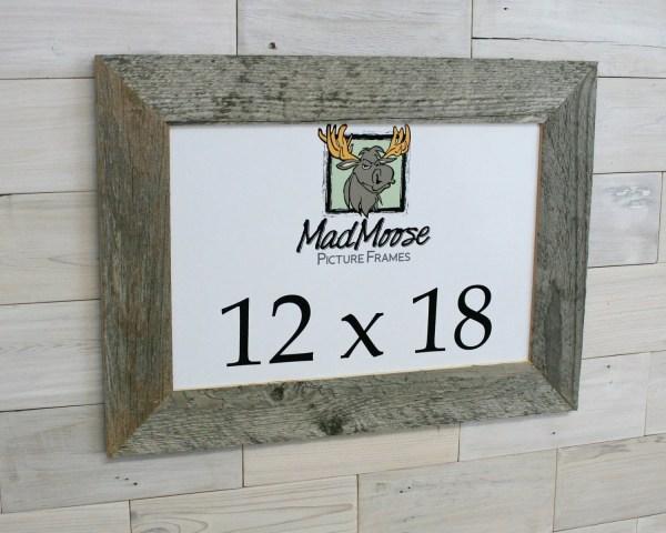 12x18 Barnwood Thin X 3 Frame