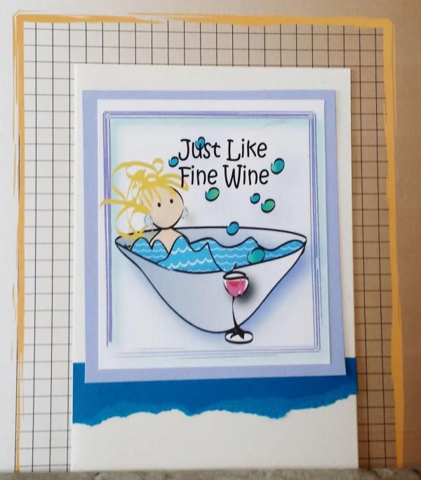 Like Fine Wine Birthday Card