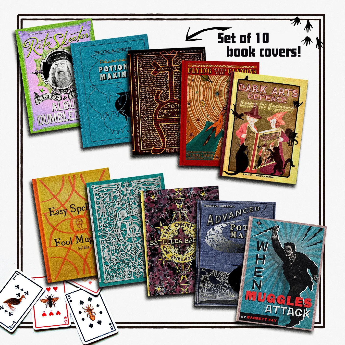 Harry Potter School Book Covers Coloring Pages