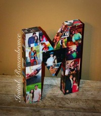 3D Picture Frame Photo letter collage Gift Children's