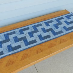Sofa Table Runners Wicker Sofas Perth Blue And Gray Runner Dresser Scarf