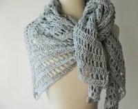 Wedding shawl silver sequin Shawl Wrap Triangle shawl glamous