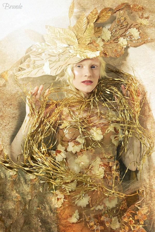 Tree Of Life Gold Gustav Klimt Inspired Costume