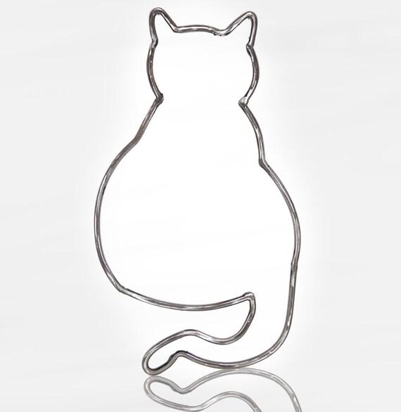 Katze Sitzend Malvorlage