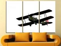 Aircraft Wall Art Multi Panels Set Plane Wall Art Aircraft