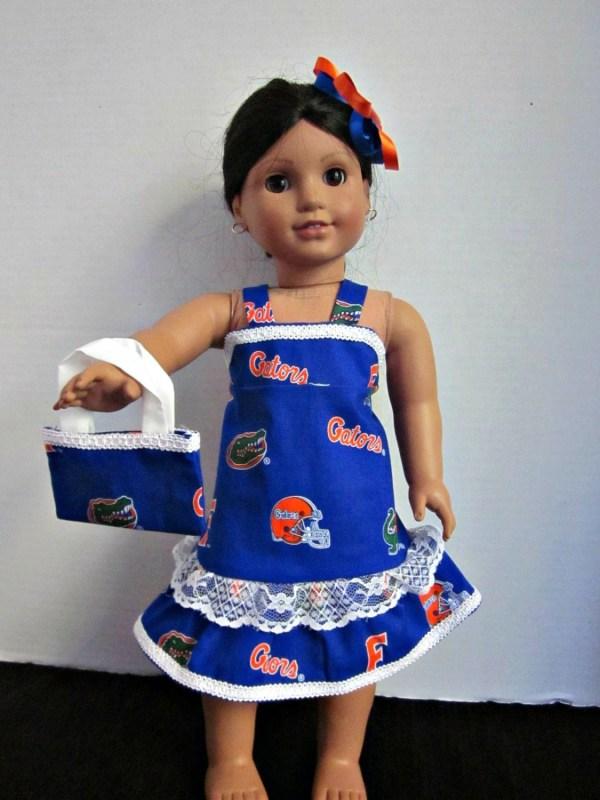 Doll Clothes-custom Clothes-florida Gators-doll