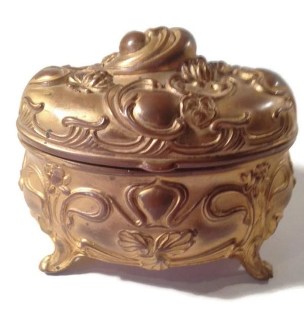 Antique Victorian Jewelry Box Victorian Era Jewelry Box