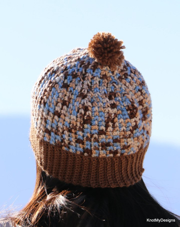 Crochet Brown and Ombre m...