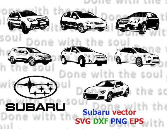 Subaru vector Vector car Vector automobile by DoneWithTheSoul