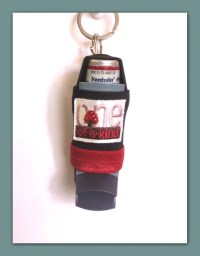 Items similar to Inhaler Holder - One of a Kind on Etsy