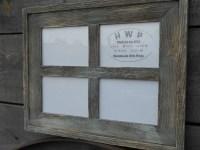 Rustic Barn Board Window Frame Handmade Handcrafted Barn ...