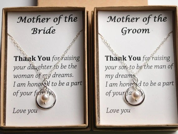 Items Similar To Mother Of The Groom Gift Necklace-Gift