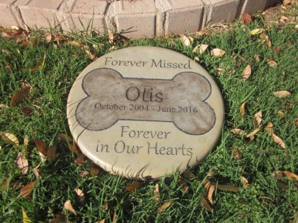 Engraved Pet Memorial 11 ' Missed
