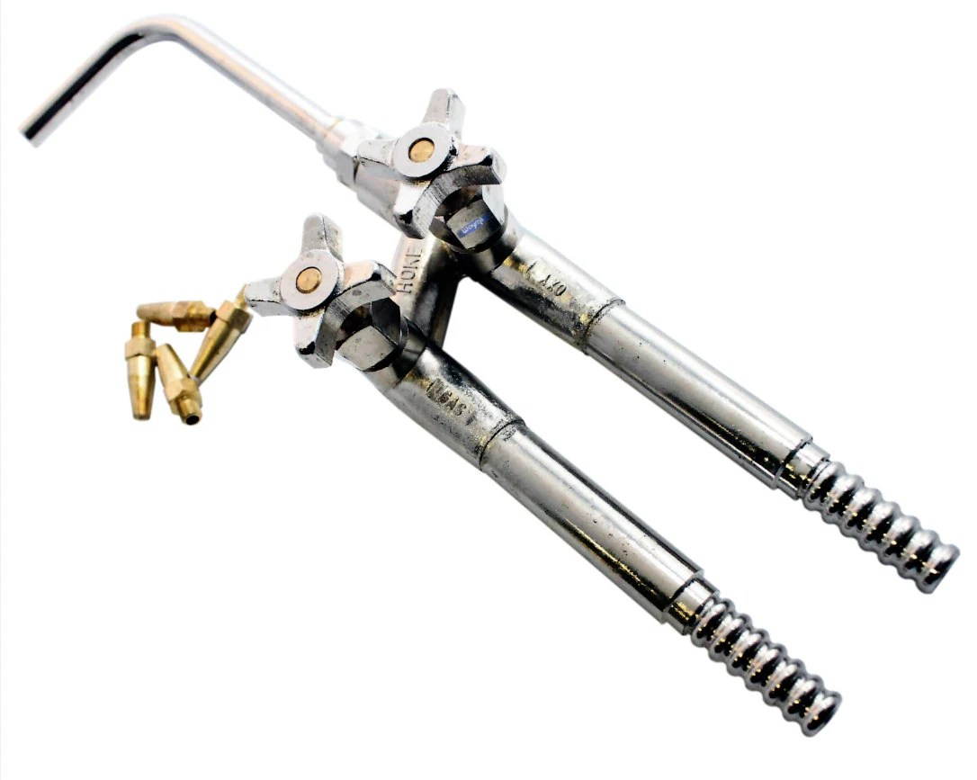 Hoke Jewelers Torch (Oxygen-Acetylene) W/ 4 Tips Soldering