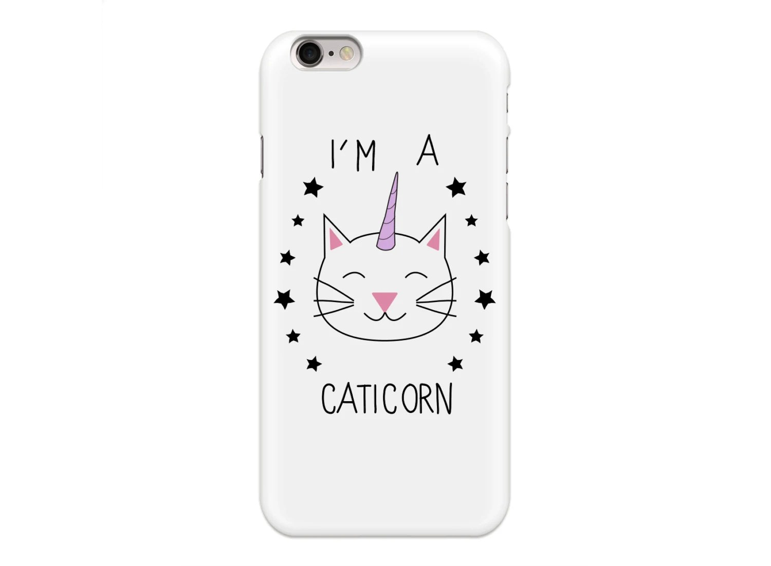 Items similar to disguised I'm A Caticorn Phone Case Cover